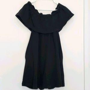 H&M - Flounce Off The Shoulder Mini Dress